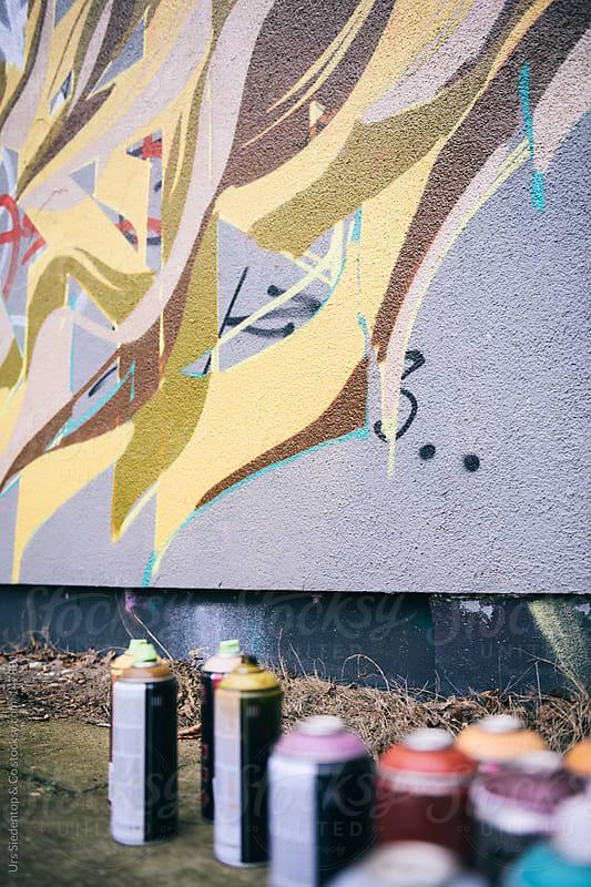 Graffiti  by Urs Siedentop & Co for Stocksy United