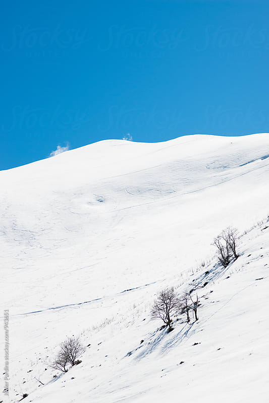 Mountains near to Bourg d´Oueil  ski resort by Javier Pardina for Stocksy United