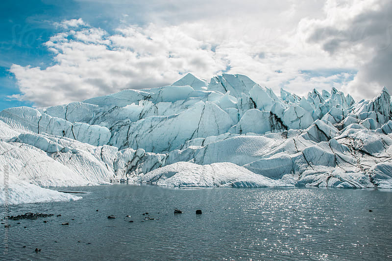 Matanuska Glacier in Alaska, USA by Tara Romasanta for Stocksy United