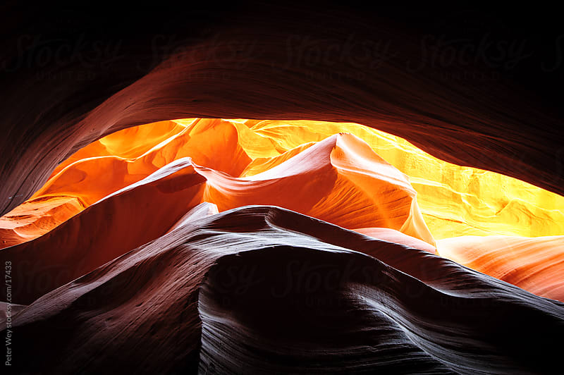 Lower Antelope Slot Canyon by Peter Wey for Stocksy United