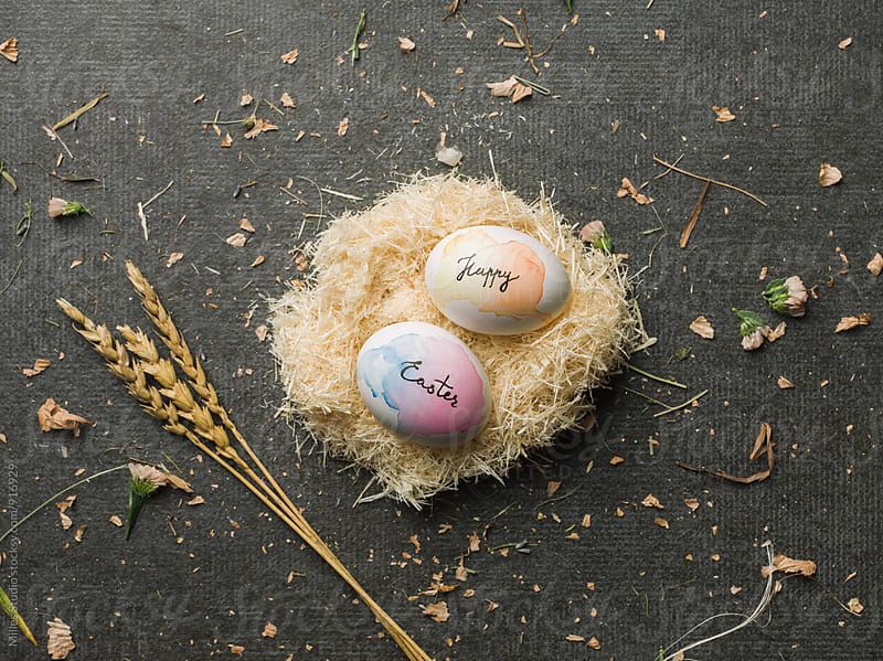 Easter eggs by Milles Studio for Stocksy United