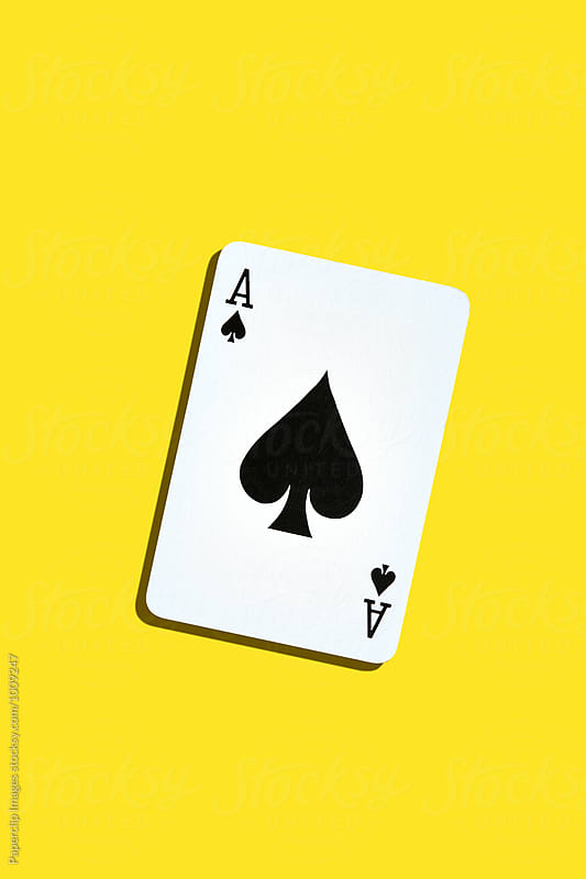 Ace of Spades by Paperclip Images for Stocksy United