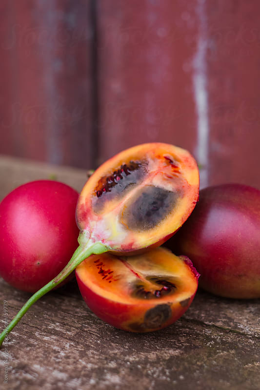 Organic Tamarillos by Rowena Naylor for Stocksy United