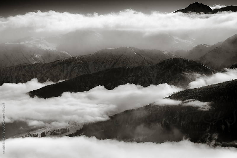 Wrapping Inversion Clouds by David Jackson for Stocksy United