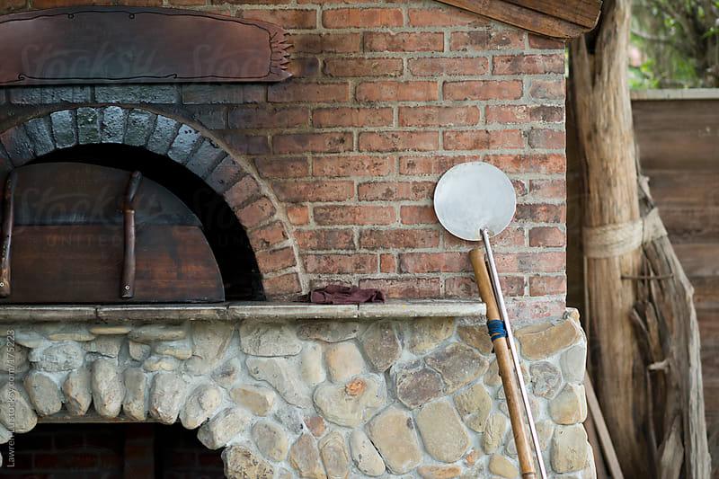 Kiln for baking Pizza by Lawren Lu for Stocksy United