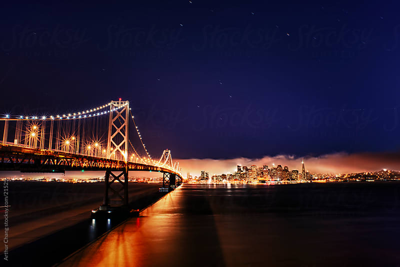 Night Views of San Francisco by Arthur Chang for Stocksy United