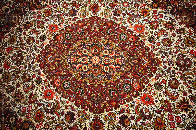 Russian carpet by Danil Nevsky for Stocksy United