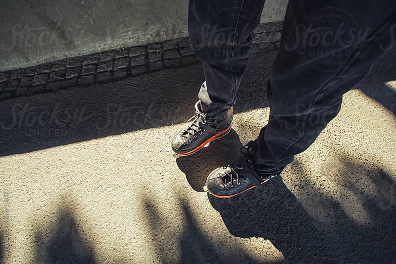 Roller-Skater by Lumina for Stocksy United