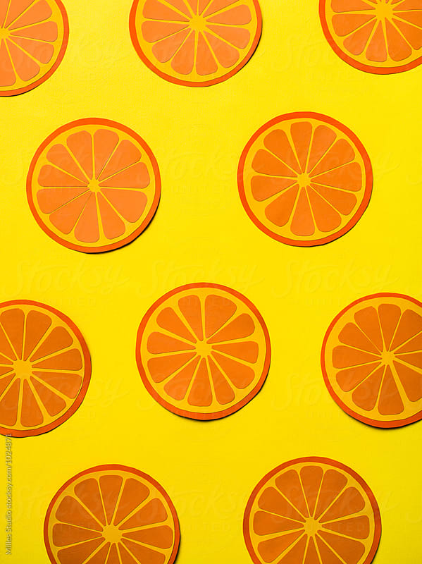 Orange Background by Milles Studio for Stocksy United