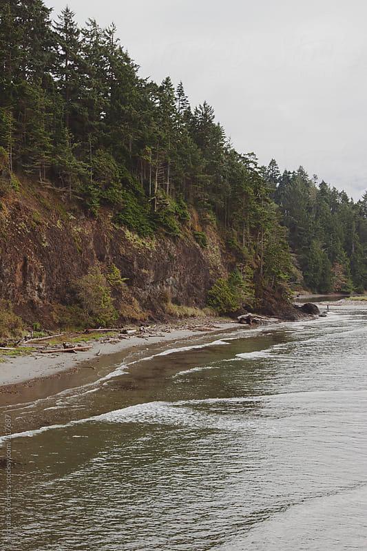 Coastal Cliff by Nicholas Roberts for Stocksy United
