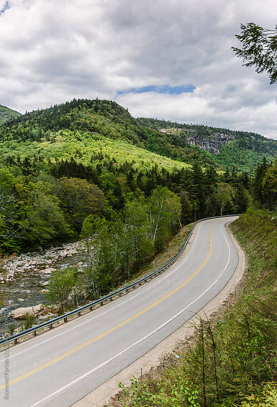 New Hampshire Rural Road by Raymond Forbes LLC for Stocksy United