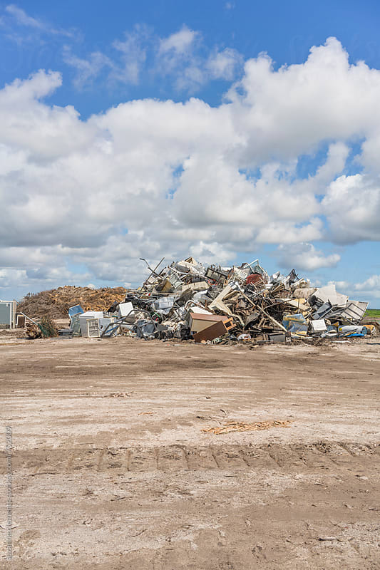 A View of the City Landfill by suzanne clements for Stocksy United