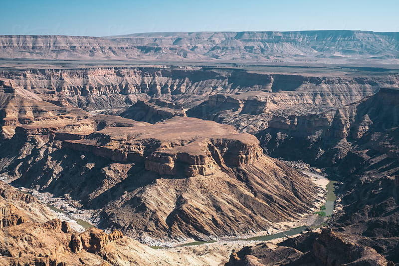 Fish River Canyon in Namibia by Micky Wiswedel for Stocksy United
