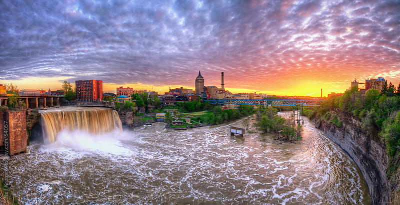 Rochester Panorama by Neil Kremer for Stocksy United