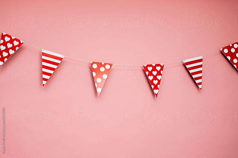 Valentine party decor by Kayla Snell for Stocksy United