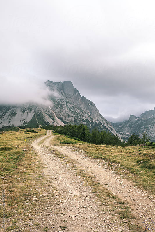 Dramatic mountain scenery in the montenegrian highlands by Zocky for Stocksy United