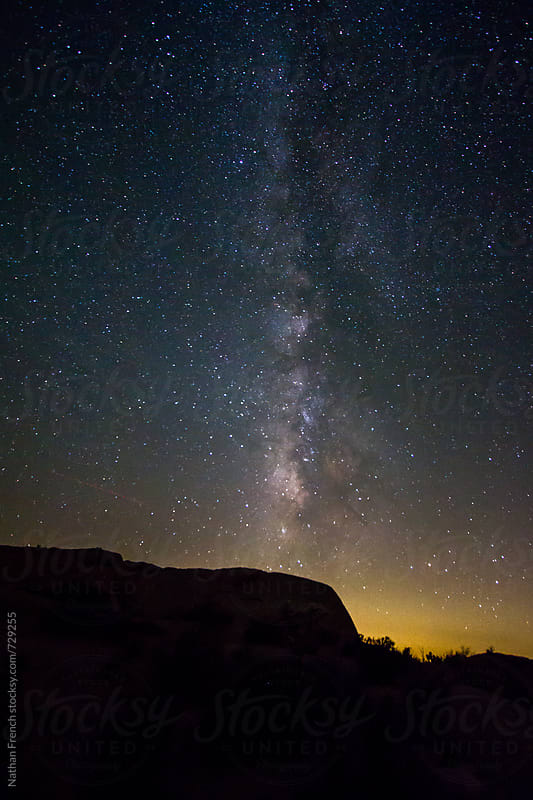 Milky Way by Nathan French for Stocksy United
