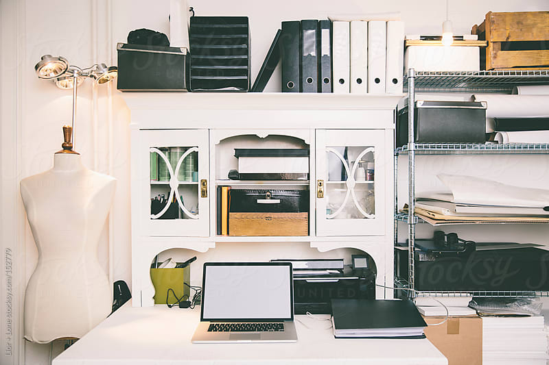 Fashion designer home studio space by Lior + Lone for Stocksy United