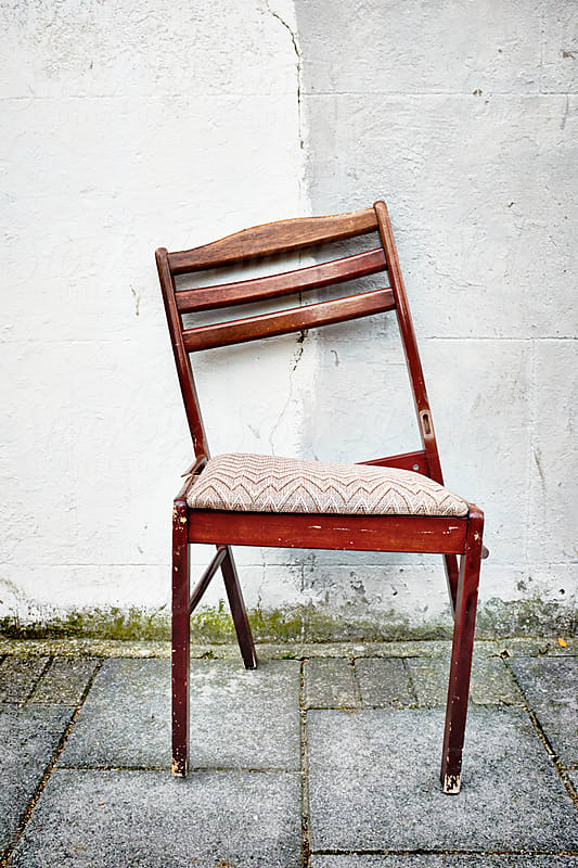 A broken chair by James Ross for Stocksy United