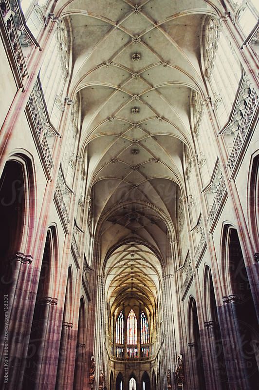 Saint Vitus cathedral in prague by Robert Kohlhuber for Stocksy United