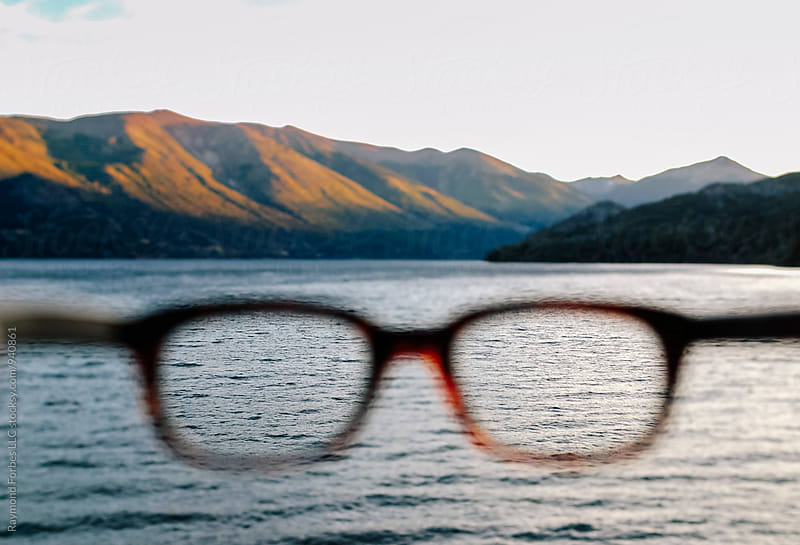 Putting on My Glasses in Argentina by Raymond Forbes LLC for Stocksy United