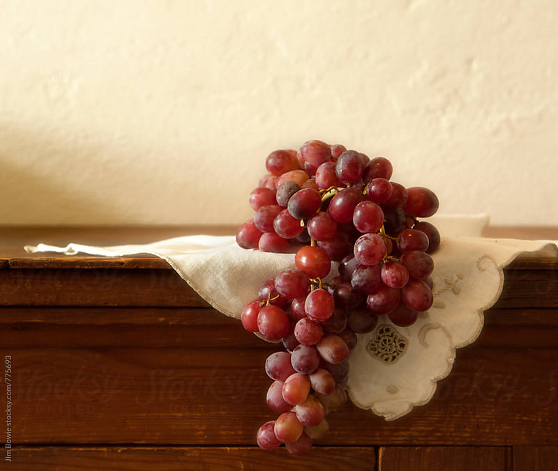 Still Life, Grapes by JIm Bowie for Stocksy United