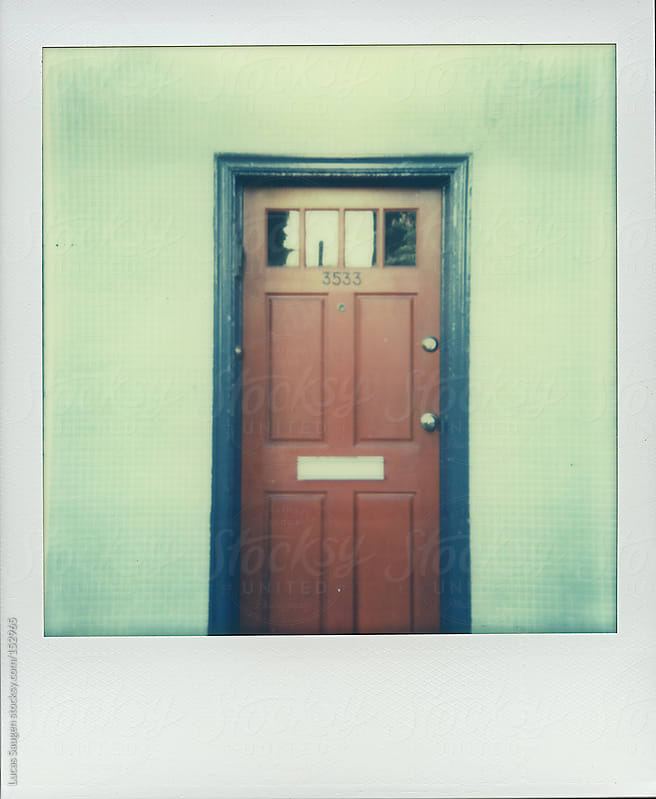 Polaroid of a doorway. by Lucas Saugen for Stocksy United
