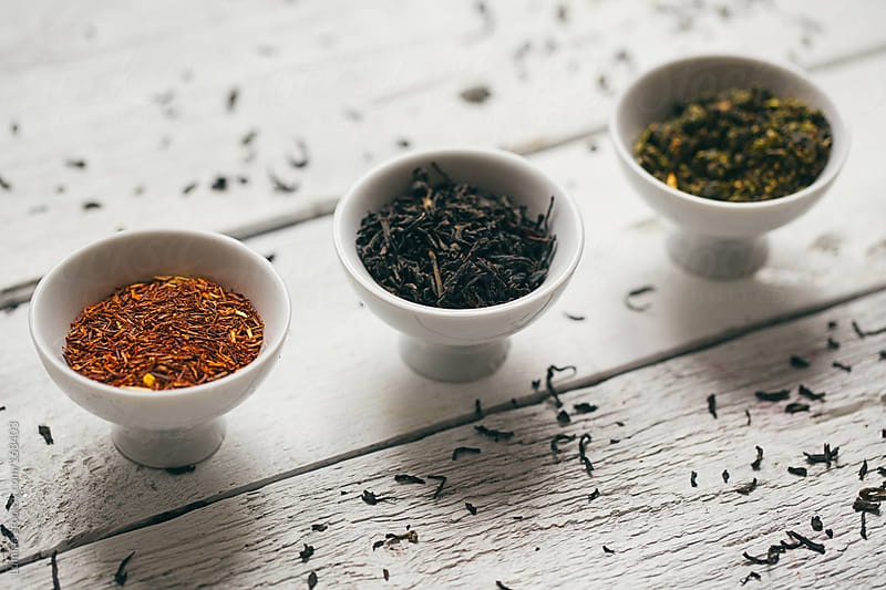 Different Kinds of Tea by Lumina for Stocksy United