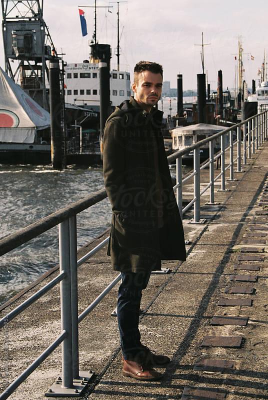 In the port.  by Nina Zivkovic for Stocksy United