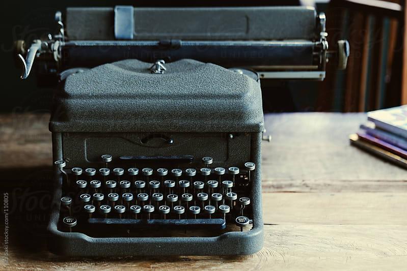 typewriter by jira Saki for Stocksy United