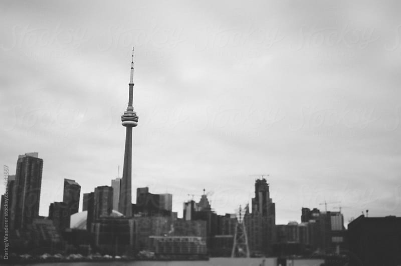 Toronto Cityscape by Daring Wanderer for Stocksy United