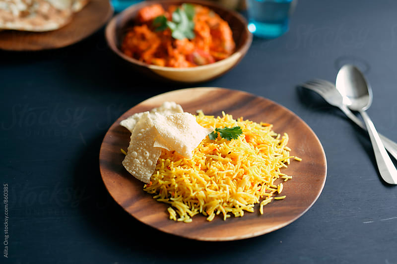 Spiced pilau rice by Alita Ong for Stocksy United
