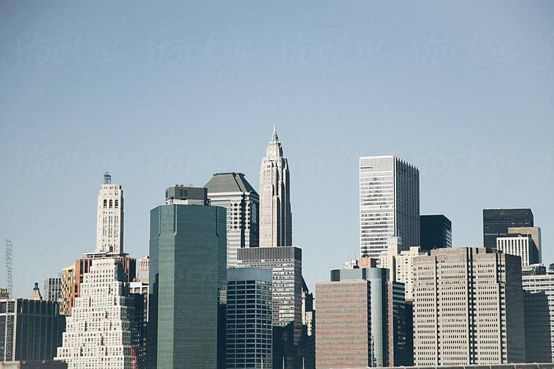 New York City Skyline by Tommaso Tuzj for Stocksy United