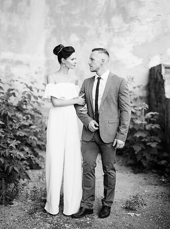 Bride and Groom by Milles Studio for Stocksy United