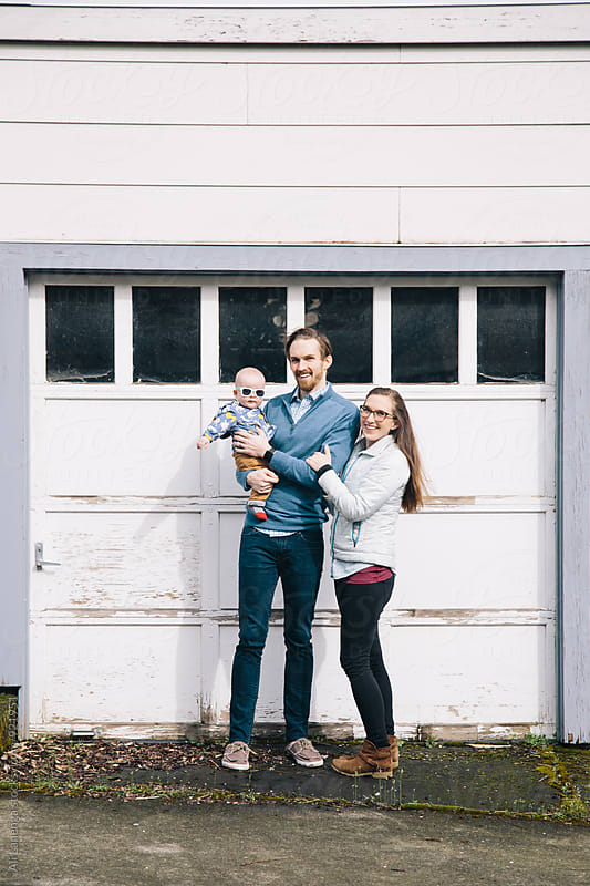 Family Portrait by Ali Lanenga for Stocksy United