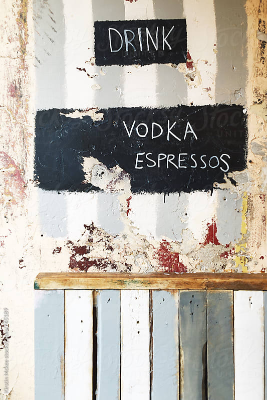 Drink Vodka Espressos by Kirstin Mckee for Stocksy United