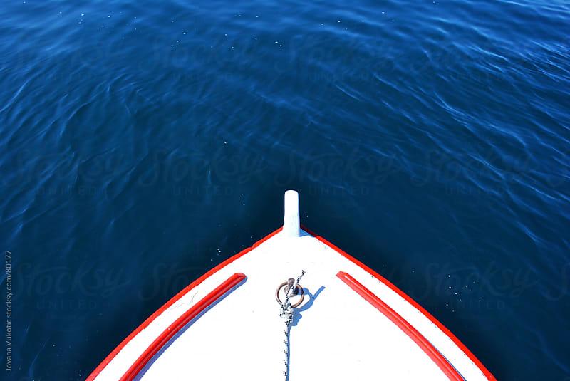 boat by Jovana Vukotic for Stocksy United
