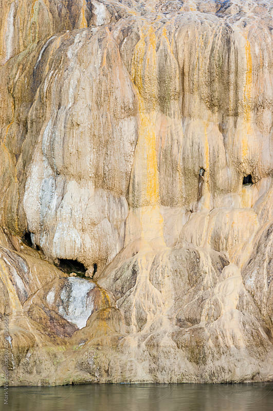 Travertine abstract by Mark Windom for Stocksy United