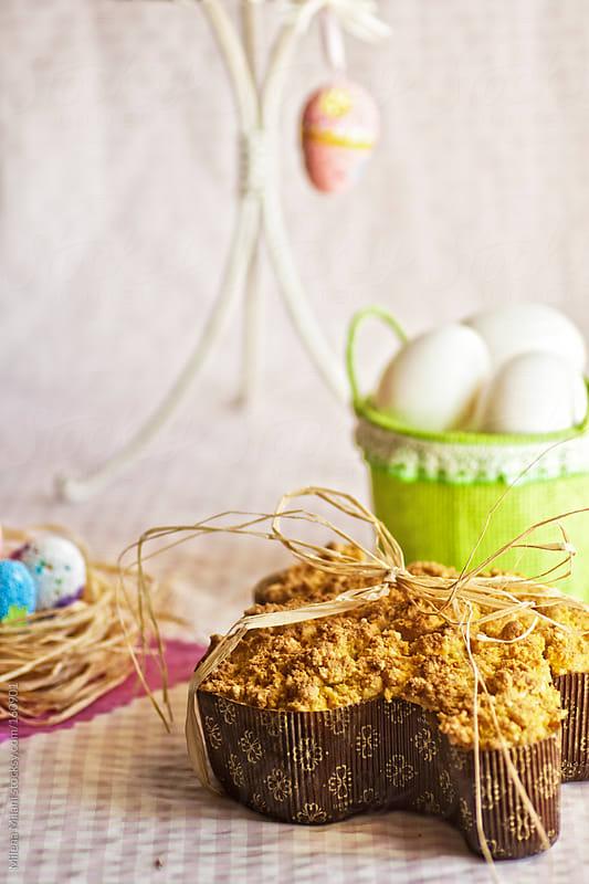 Easter cake by Milena Milani for Stocksy United