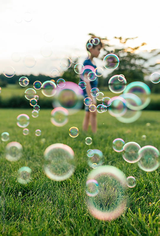 bubbles by Melanie DeFazio for Stocksy United
