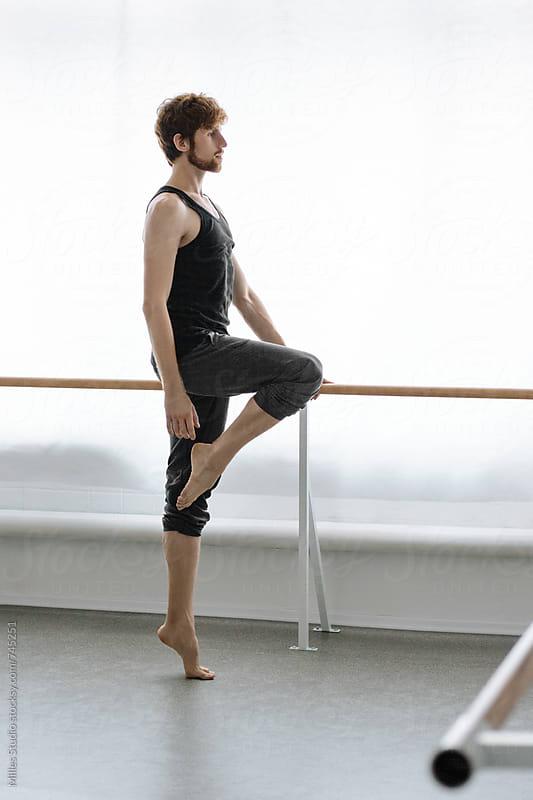 Male Ballet Dancer by Milles Studio for Stocksy United