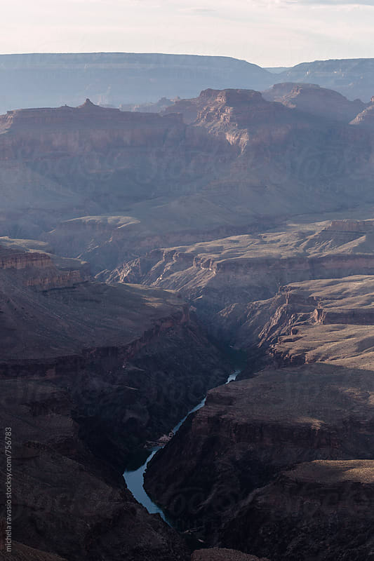 View of Colorado river in Grand Canyon by michela ravasio for Stocksy United