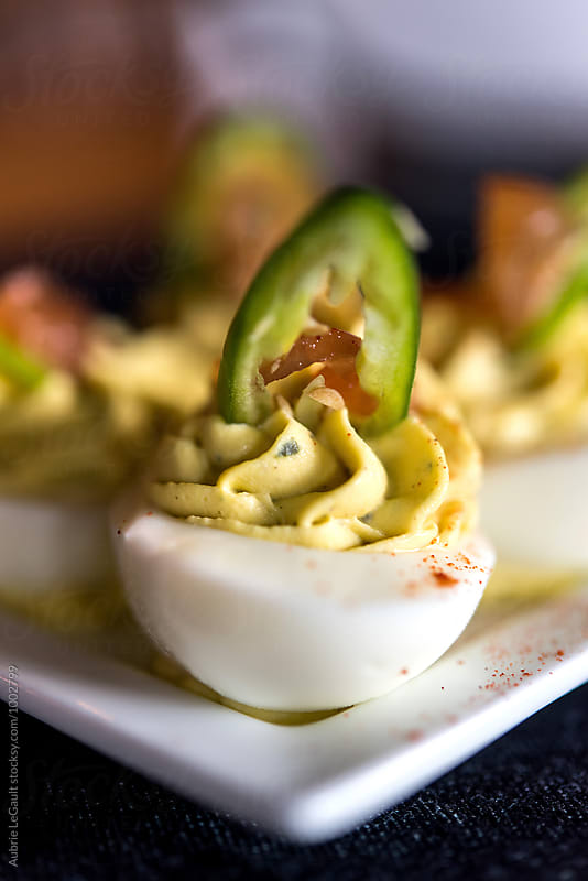 Deviled Eggs by Aubrie LeGault for Stocksy United