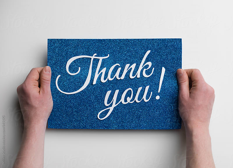 Thank You by Milles Studio for Stocksy United