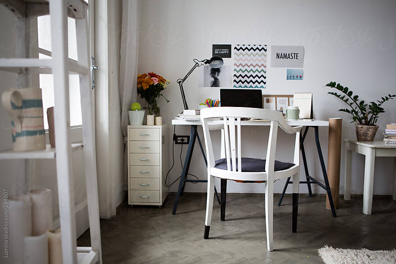 Office at Home by Lumina for Stocksy United