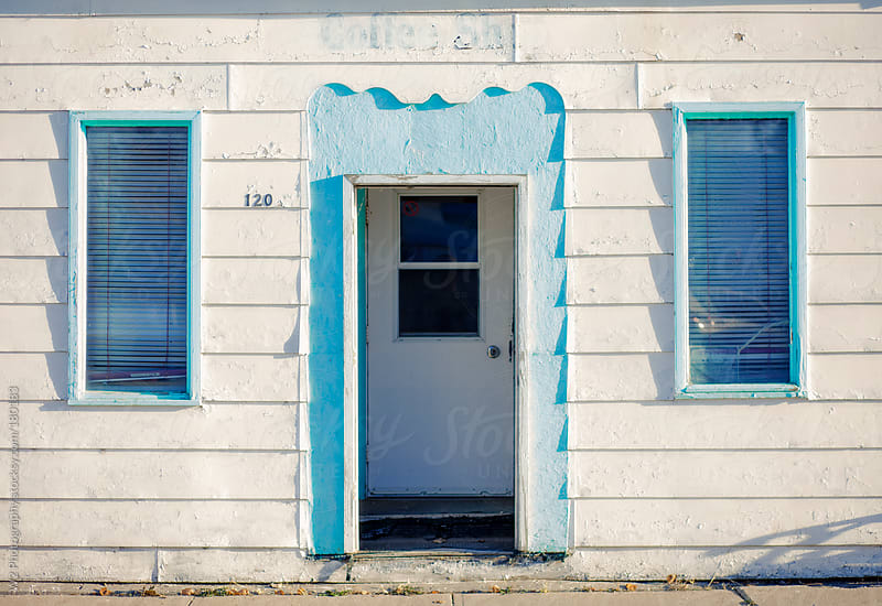Old vintage storefront door by W2 Photography for Stocksy United