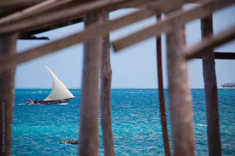 Dhow sailing by Chris Werner for Stocksy United