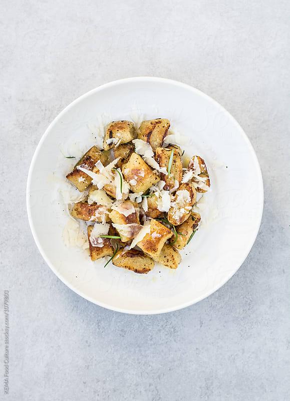 Ramen gnocchi by KEMA Food Culture for Stocksy United