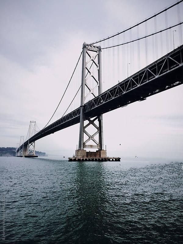 Bay Bridge in San Francisco by B. Harvey for Stocksy United