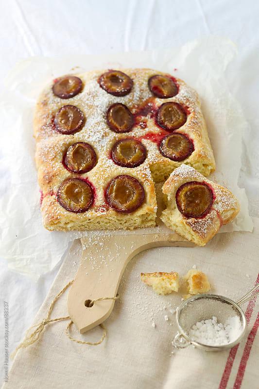 Plum cake by Noemi Hauser for Stocksy United